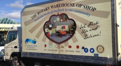 Rotary Warehouse Op Shop Rosebud Rotary Warehouse Op Shop Rosebud mission To raise money which is distributed to services and groups on the Peninsula who in turn support the community. To support Rotary projects locally, nationally and internationally and to make people aware of the service that Rotary provide around the world. To help people …