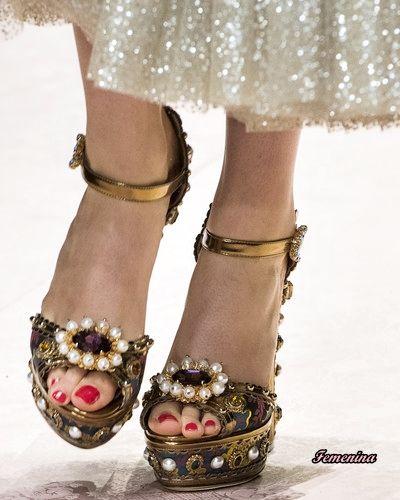 Dolce   Gabbana Spring Summer 2019 - Shoes  2c8b07c130b