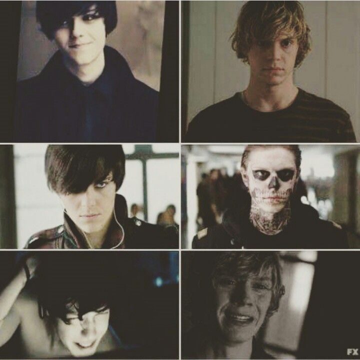 Literally so perfect... Dominik from Suicide Room and Tate Langdon from American Horror Story