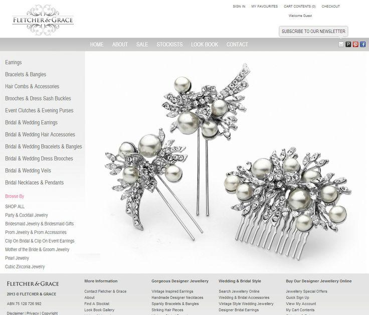 Flex-e ecommerce solution (www.flexeshopping...) for popular, high-end Sydney based Jewellery online store