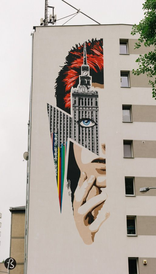 David Bowie's Warsaw: How Warszawa Came to Be_In January 2016 the world got a little sadder. Some people, like I did, went to pay respects at his former home in Berlin. Others decided to commemorate his life by immortalizing him on huge mural. A mural in Warsaw's Żoliborz district, where David Bowie took a walk almost 40 years before. This was the proposal from Beata Chomątowska of the Stacja Muranów Association and I manage to visit this beautiful piece of street art when Fotostrasse…