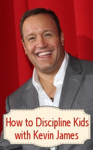 Kevin James revealed his parenting tips for How to Discipline Kids (especially if you have more than one!)