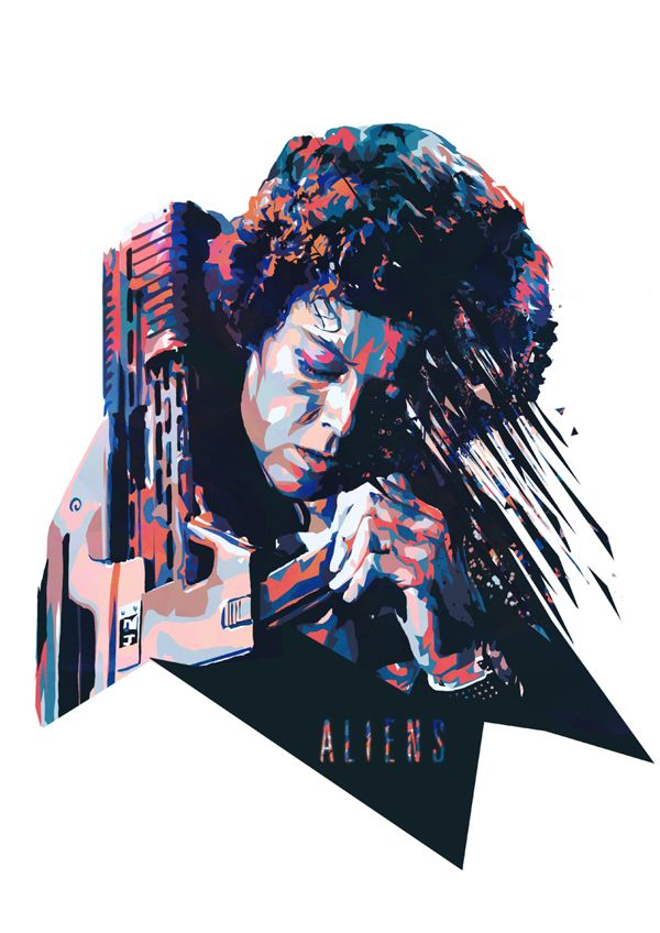 Aliens - Ripley by Mink Couteaux *