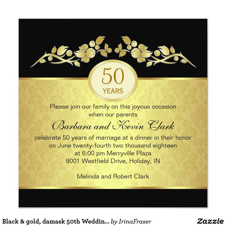 94 best Wedding Invitations images on Pinterest Invitation ideas - fresh invitation samples for 50th wedding anniversary