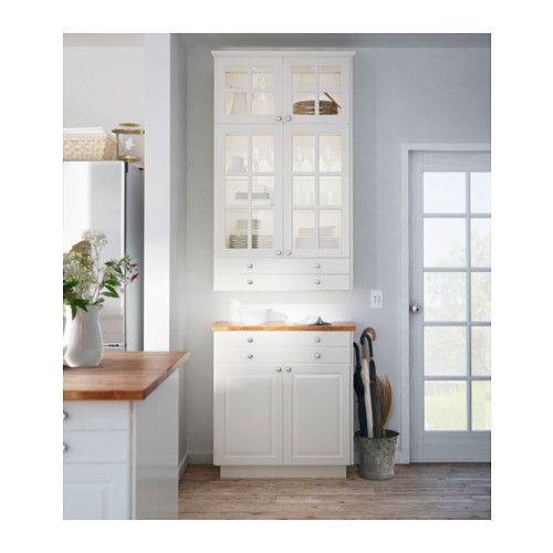 BODBYN Anta - bianco sporco, 40x80 cm - IKEA