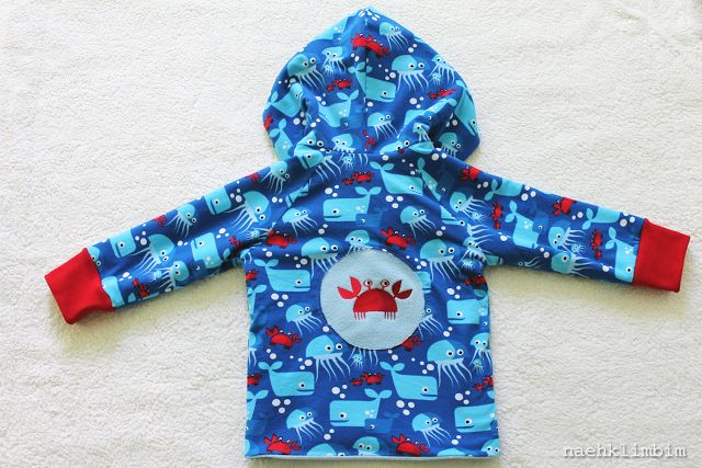 Underwater love lillestoff enemenemeins fabric kids