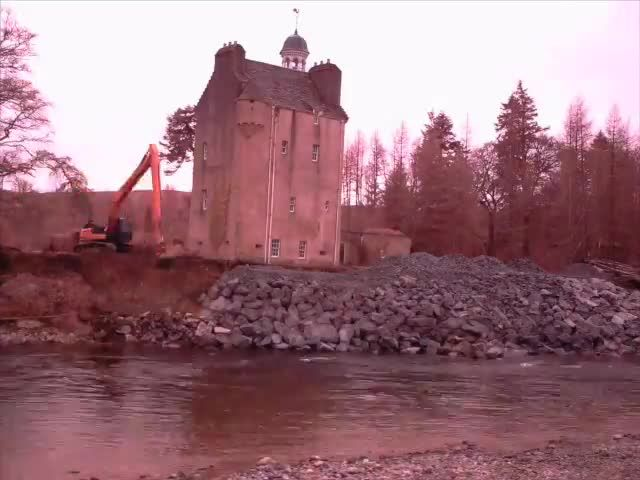 As the floods raged across the north-east, one of the area's biggest concerns surrounded the future of Abergeldie Castle, with fears that the rising River Dee could wash away the building which has stood strong since the 16th century. The Queen's neighbour at Balmoral, John Gordon, had to flee the castle as the raging River...Read Full Story
