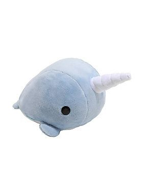 Ever cuddle with a Narwhal? // Bellzi Blue Narzzi The Narwhal Plush