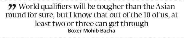 Olympic berth: Boxer Bacha confident of making it to Rio 2016 - The Express Tribune