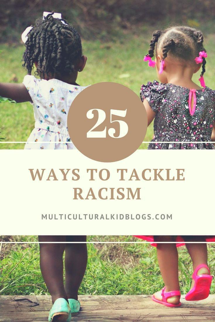 25 Ways to Tackle Racism  #diversity #mkbdiversity