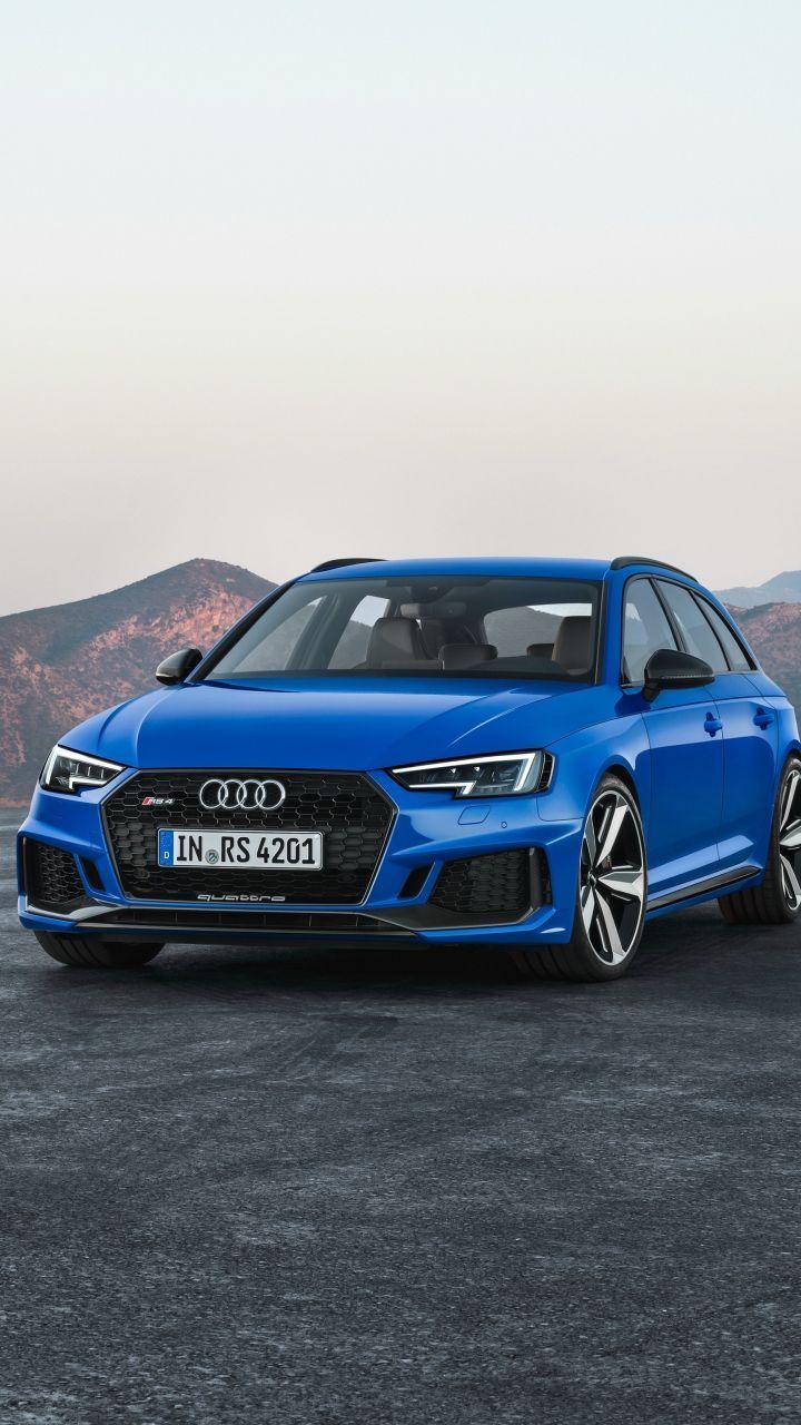 Luxrious Blue Audi Rs4 720x1280 Wallpaper Blue Audi Audi Rs4 Audi