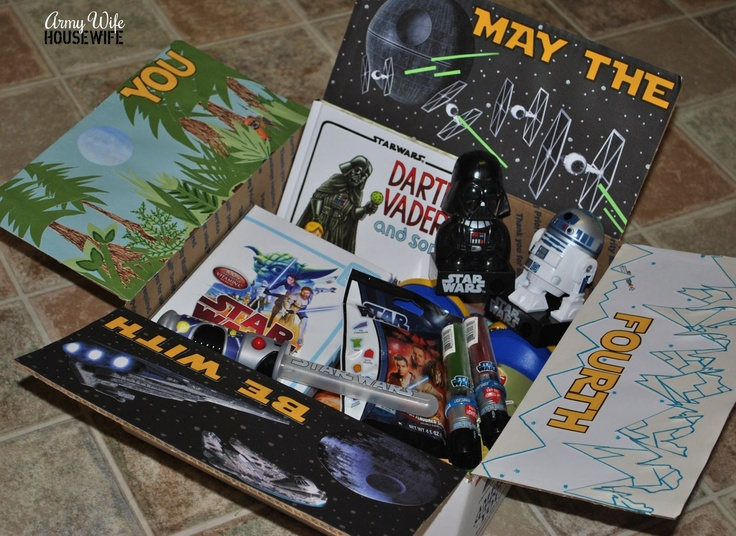 Care Package #20: Truly Awesome...This Care Package Is -- #army #deployment -- Star Wars