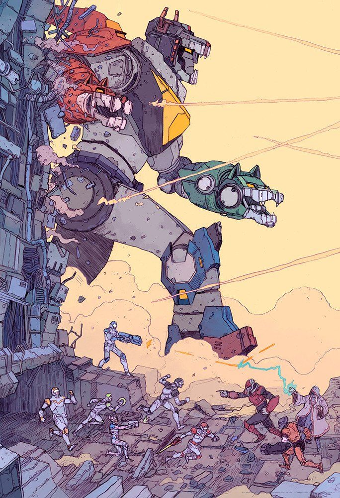 """Big V"" by Josan Gonzalez - Hero Complex Gallery"