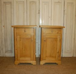 Cottage Antiques | Antique Bedside Cabinets | £295 for 2