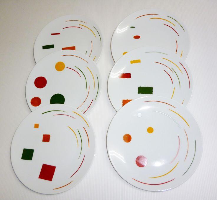 créations atelier 714 peinture porcelaine montpellier assiettes   Atelier714 peinture sur porcelaine