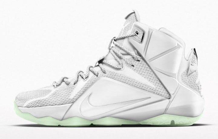 John Elliott x Nike LeBron 12 for LeBron James's Fashion Show (5) 2015 - Lebron 12 XII All White