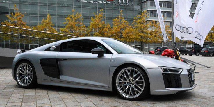 2017 Audi R8 V10 plus: Close Sibling to Lamborghini Huracan - http://www.designdellautomobile.com/2016/08/2017-audi-r8-v10-plus.html