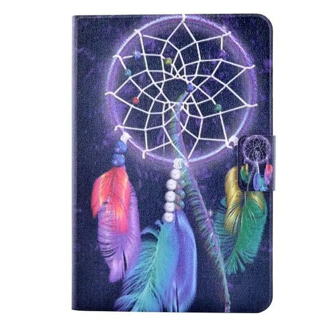 fashion print leather case for samsung galaxy tab A 8.0 T350 T355 SM-T355 8'' tablet cover case +screen protector film+stylus