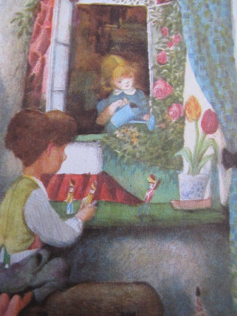 From Hans Christian Andersen's Fairy Tales, illustrated by Jiri Trnka