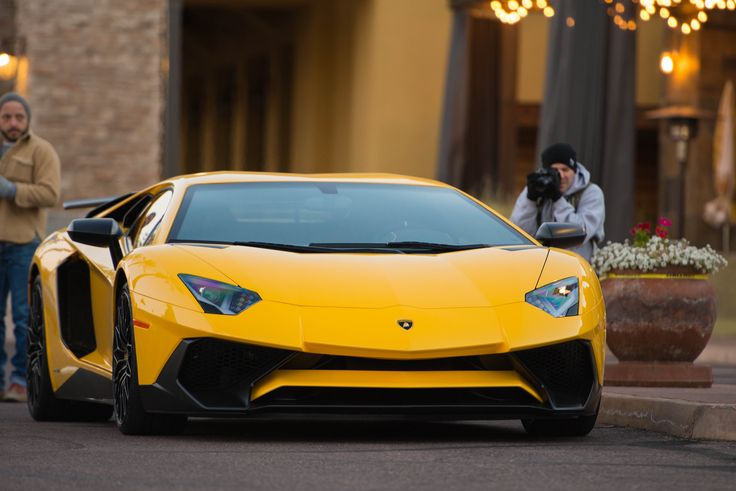 Looking for similar pins? Follow me! http://kohlsson.link/1W5N6ws   kevinohlsson.com Yellow Lamborghini Aventador SV at Cars and Coffee Scottsdale [OC][4906x3276]