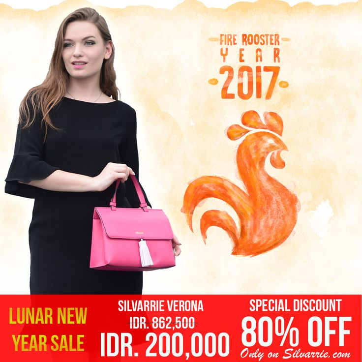 Lunar New Year Sale! Silvarrie Verona Bag, Special Discount 80% = IDR.200,000. Limited time only! grab it fast on Silvarrie.com. *While stock last  For more Info: WA 0811215106 📱BBM D3041DC5 📱LINE silvarriebags . . . #silvarrie #tasdiskon #diskontahunbaru #promoimlek #chinesenewyear #angpao #tasdiskon #taskulit #Silvarriebags #newyearsale #discounts #Tas #TasWanita #Promo #Diskon #Harbonas #harbolnas2017 #onlineshopping #sale #GIVEAWAY #cashback #belanja #shoping #shopingday #2017…