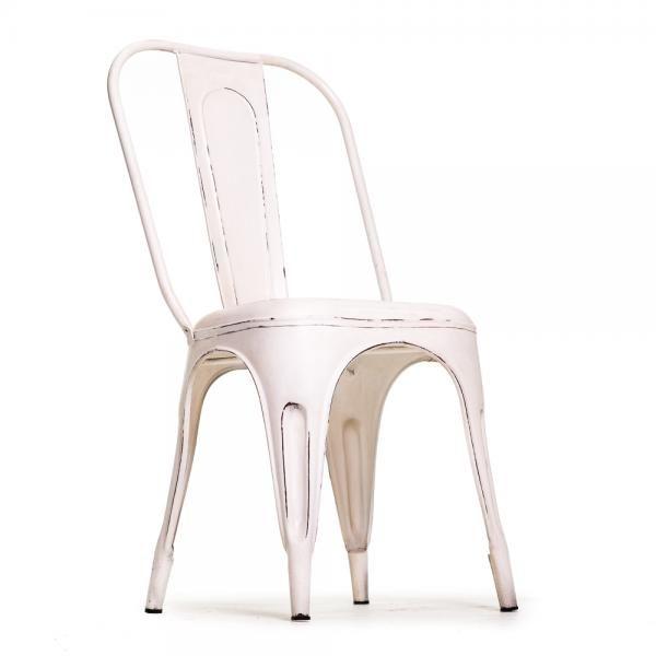 Vintage henkinen metallituoli, valkoinen. Toimii sekä sisä että ulkotiloissa! Omat tuolit voit tilata tästä: http://www.verkkokauppa.aadesign.fi/tuotteet/columbia-iron-chair-white