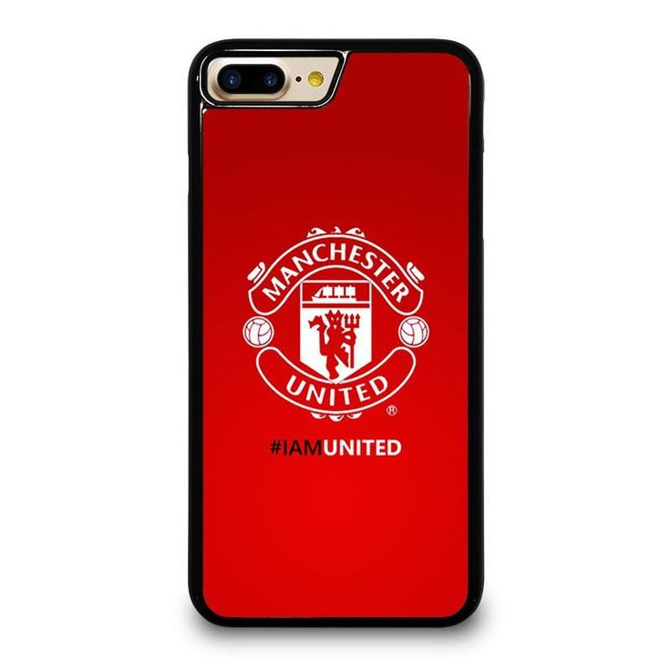 I AM UNITED MANCHESTER UNITED iPhone 4/4S 5/5S 5C 6/6S 6/6S 7/7S Plus SE Case Cover