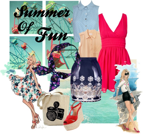 """""""Summer Of Fun"""" by alicia-king on Polyvore"""