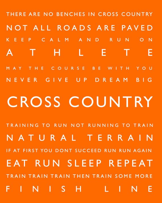 Cross Country  Personalized Sports Decor Sports by PaperWallDesign, $18.00