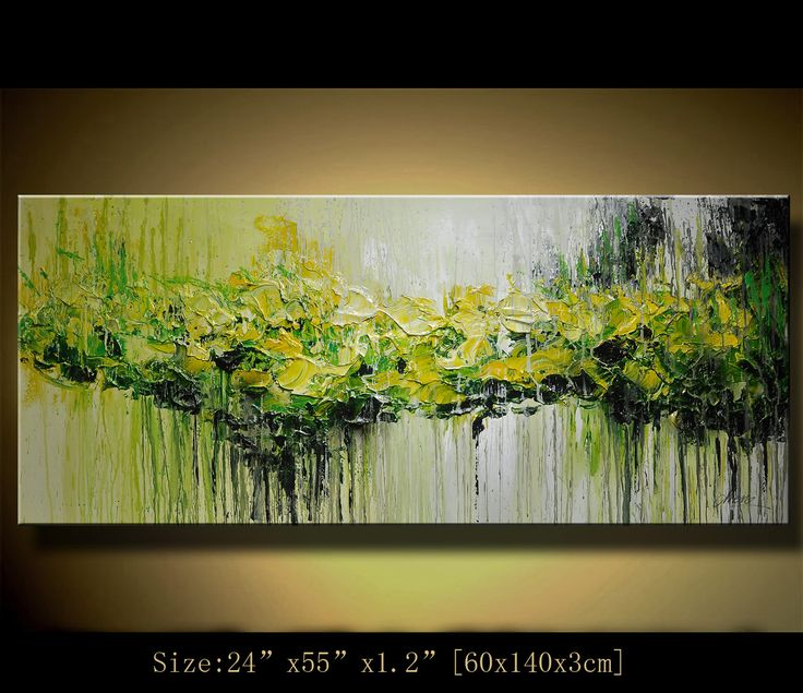 Art painting Original Abstract Painting Modern Landscape