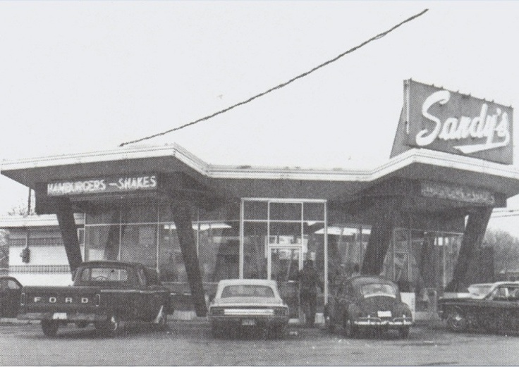 Image detail for -Sandy's Marion Indiana Hamburgers Drive-In Sandys 1960s 1950s ...