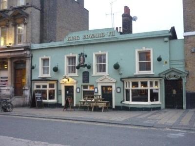 My pub! (literally ...) The King Eddie in Stratford