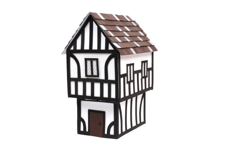 How to Make a Tudor House #Schoolprojects #History #Tudor