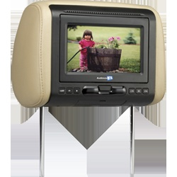 AVXMTGHR1D - 7 inch headrest monitor with built-in DVD player