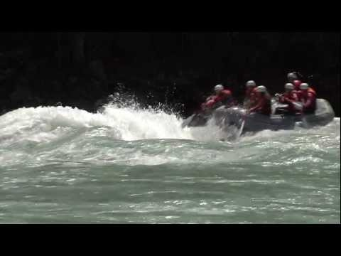 Rafting at AREA 47 in the Ötztal valley.