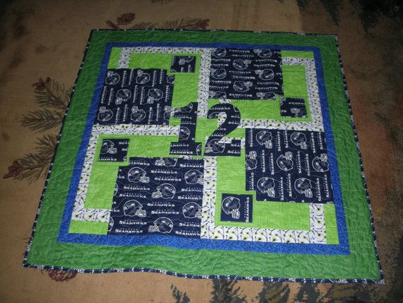 1000 Images About Seahawk Quilts On Pinterest Quilt