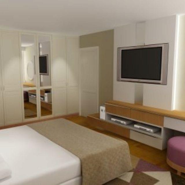 114 best images about muebles de obra pladur on pinterest - Muebles para tv dormitorio ...