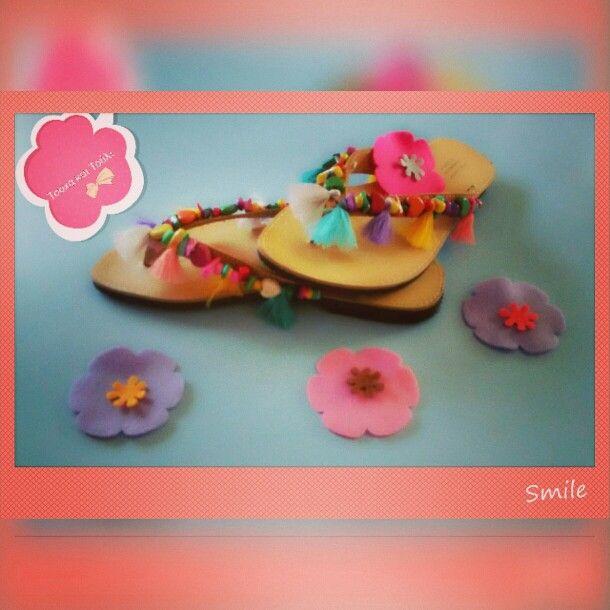 Lovely boho sandals