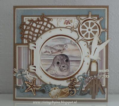 Vintagebyina   : Spetteren in het water....