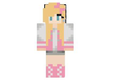 Girl Minecraft Skins | Pig Agent Girl Skin for Minecraft | 9Minecraft | Minecraft Downloads