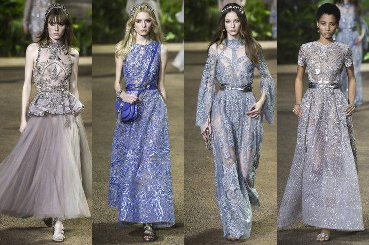 Jarní Couture 2016 Elie Saab na cestě po inspirativní Indii | Móda, styl a módní trendy. Dámské a pánské oblečení.