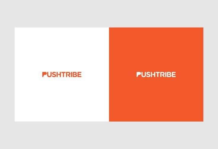 Pushtribe.com identity design