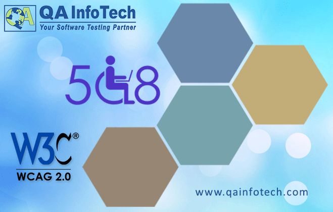 Our team of sighted along with non-sighted accessibility experts can help you with rigorous #AccessibilityTesting services while following #WCAG 2.0 and #Section 508 compliance. Trust our proven track record, expertise and realistic testing approach. Just visit us at www.qainfotech.com/accessibility-testing-services.html to know more about our capability and approach. Feel free to consult our experts at sales@qainfotech.com