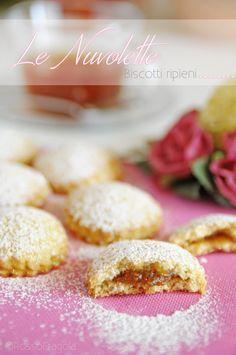 """""""Le Nuvolette"""" - Biscotti ripieni con confettura di fichi"""