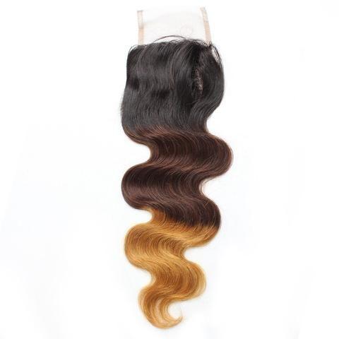 Tissage - Closure Brésilienne REMY Cheveux Naturels T3 Body Wave Free Style