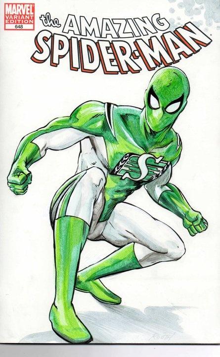 Roughrider Spider-man