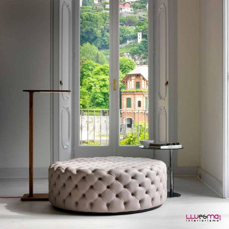 Pouf Alcide Redondo De Porada. Muebles De Diseño Italianos. Puffs. Poufs Furniture ShowroomFurniture StoresContract ...