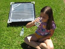 The Water Honcho Portable Solar Water Desalination Unit - Produces up to 4 to 6 liters of fresh healthy water per day in full sunlight.