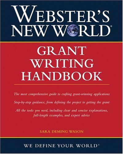 127 best books about writing images on pinterest books book and a comprehensive step by step guide to grant writingwebsters new world grant writing handbook walks readers through every step of the grant writing fandeluxe Image collections