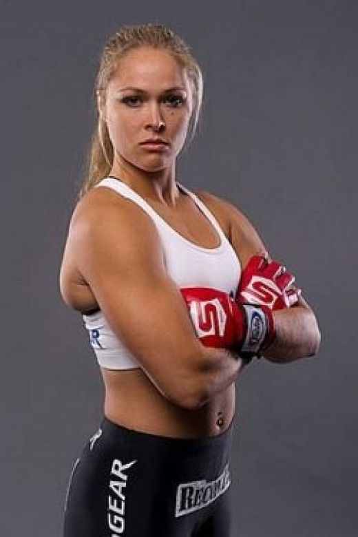 Ronda Rousey - female mma fighters